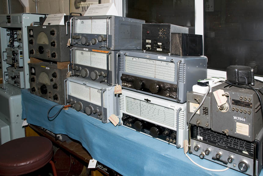 A fine collection of Eddystone Receivers