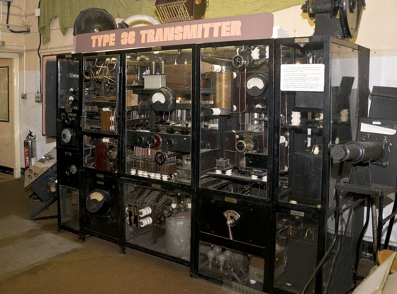 Old Television transmitter